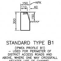 Kerb Profile B1