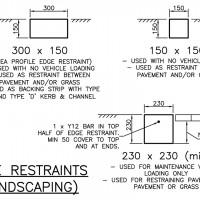 Edge Restraints (Landscaping)