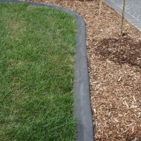 Mower edge paver look